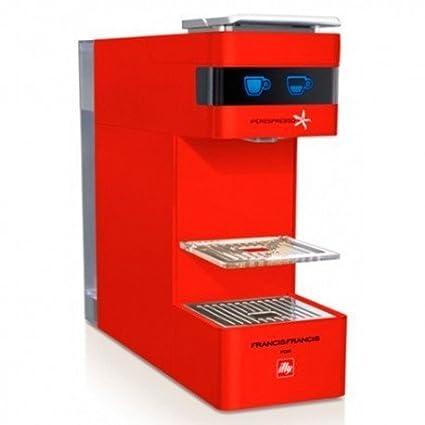 Máquina Illy Y3 iperespresso rojo 108 Cápsulas gratuitos.: Amazon ...