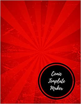 Comic Template Maker Insignia Cartoons And Comics 9781521102756