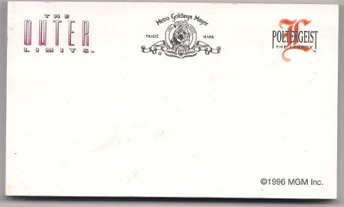 (MGM The Outler Limits and Poltergeist Showtime Promotional Note Paper Pad 1996)