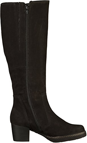 Gabor Paris L Womens Long Boots Black Nubuck ou1oSoJ