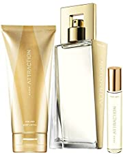 Avon Attraction Set für Sie Eau de Parfum + Körperlotion + Taschenspray