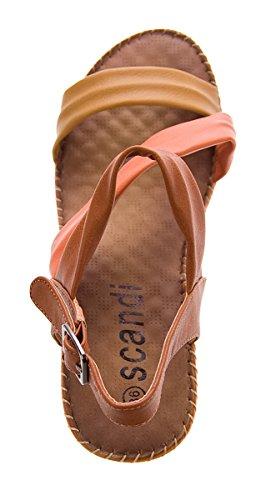 Camel Brown Scandi Sandales Sandales Femmes Camel Des E60tx7nwqP