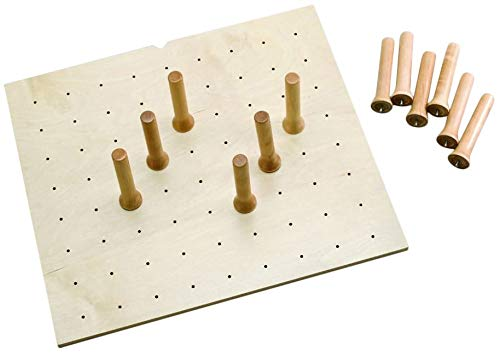 Rev-A-Shelf - 4DPS-2421 - Small Cabinet Drawer Peg System Insert with Wood Pegs
