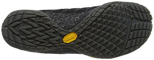 Merrell Mens Trail Glove 4 Mesh Synthetic Space Black Trainers 8 US