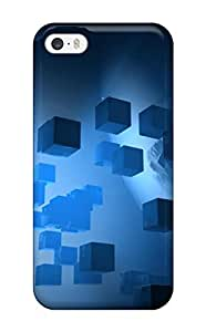 Shock-dirt Proof Cubes Abstract Case Cover For Iphone 5/5s