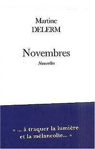 Novembres par Martine Delerm