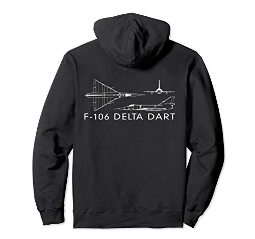 F-106 Delta Dart Interceptor Fighter Plane Gift Pullover for sale  Delivered anywhere in USA