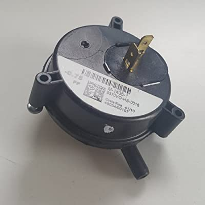 """9370VO-HS-0016 - Richmond OEM Upgraded Replacement Water Heater Air Pressure Switch -.075"""" W/C"""