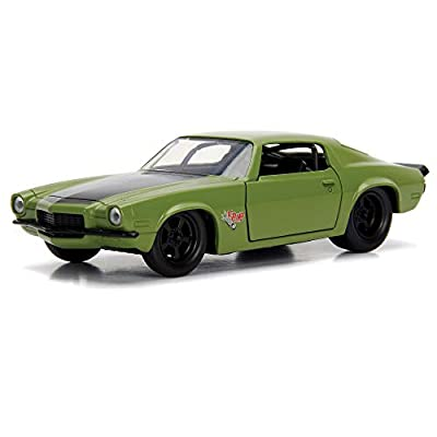 1973 Chevy Camaro F-Bomb Hard Top, Fast and Furious - Jada 99521 - 1/32 Scale Diecast Model Toy Car: Toys & Games