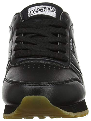 Blk Negro Black Old Mujer Altas OG para 85 School Zapatillas Cool Skechers SPAqwWH