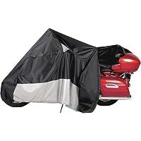 Dowco Guardian WeatherAll Plus Black X-Large EZ Zip Motorcycle Cover