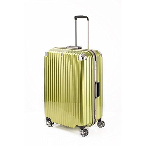 スーツケース/キャリーバッグ 【ライムヘアライン】 Lサイズ 100L 『トラベリスト ストロークII』【代引不可】 ファッション バッグ スーツケース トラベルケース top1-ds-2025004-ah [簡素パッケージ品] B07B7JC7VS