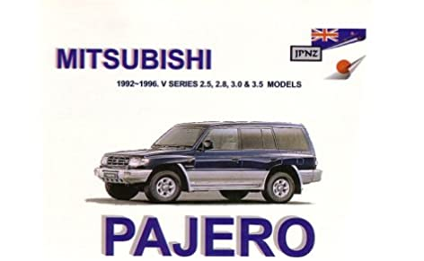 mitsubishi pajero 92 96 owners handbook 9781869760908 amazon com rh amazon com User Manual PDF Manual Valve Operators