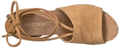 websites for sale Aerosoles Women's Spring Plush Wedge Sandal Dark Tan Suede clearance 2015 best sale cheap online with mastercard cheap online 2014 unisex cheap price qDmsrIU