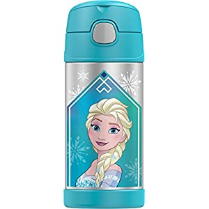 Thermos Funtainer 12 Ounce Bottle, Frozen Aqua