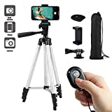 "Coching Phone Tripod 50"" Inch/130cm Lightweight Aluminum Camera Cell Phone Tripod with Universal"