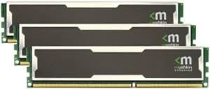 Mushkin Enhanced Silverline 6GB (3x2GB) DDR3 RAM PC3-10666 240-Pin DIMM w/Heat Spreaders