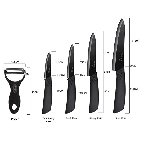 Ceramic Knife Set Nano ID Modern Kitchen Knife Very Sharp by NANO ID (Image #5)
