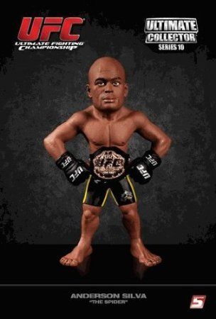 (5Star-TD UFC Ultimate Collector Series 10 Anderson 'The Spider' Silva Championship Edition with Championship Belt)