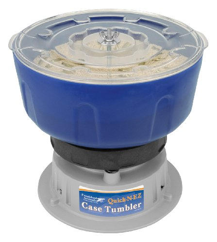 Frankford Arsenal Quick-N-EZ 110V Vibratory Case Tumbler for Cleaning and Polishing for Reloading by Frankford Arsenal (Image #2)
