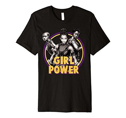 Marvel Black Panther Movie Girl Power Premium - Black For Black