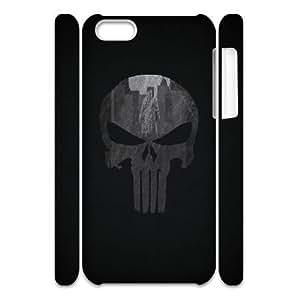 LTTcase Custom punisher logo 3D Hard Case for iphone 5c