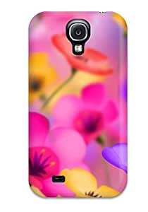 Awesome Design Flower Hard Case Cover For Galaxy S4 6623976K32004941