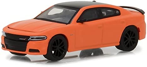 GREENLIGHT 13210 F GL MUSCLE 2017 DODGE CHARGER R//T 1//64 DIECAST ORANGE
