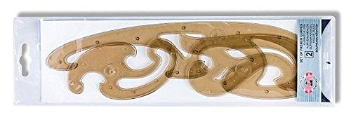 Koh-I-Noor 750068 - Set da 3 curvilinee da disegno
