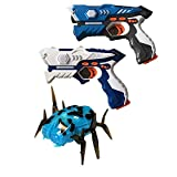 Wonderstar Toys - Laser Tag Blasters - 2 Blaster and 1 Mechanical Spider Set