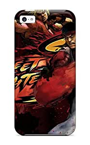 TYH - Anti-scratch Case Cover Protective Street Fighter Case For ipod Touch 4 K phone case