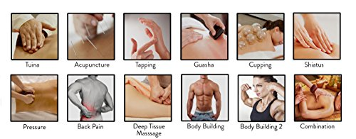 12 Modes Best Portable Digital Muscle Pulse Device + 10 Pairs of Replacement Long Life Pads Great for Muscle Soreness Relief LIFETIME WARRANTY FDA CLEARED Pro12AB HealthmateForever-Silver by HealthmateForever (Image #2)