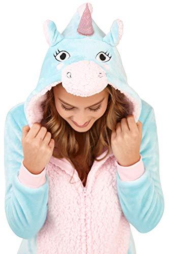 Aqua Unicorn Loungeable XL Boutique Taglia Monopezzo Donna qqxHOR