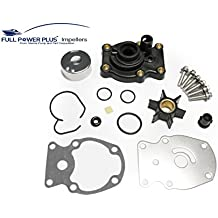 Johnson Evinrude OMC Water Pump Kit With Housing Replacement (1985-UP)20 25 30 35HP Sierra 18-3382 393630 Outboard Motor Parts