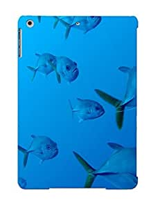 CibJKd-1241-VfkaC New Ipad Air Case Cover Casing(Animal Fish)/ Appearance