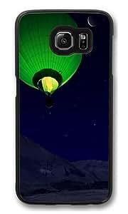 Ball Mountains Night Custom Samsung Galaxy S6/Samsung S6 Case Cover Polycarbonate Black
