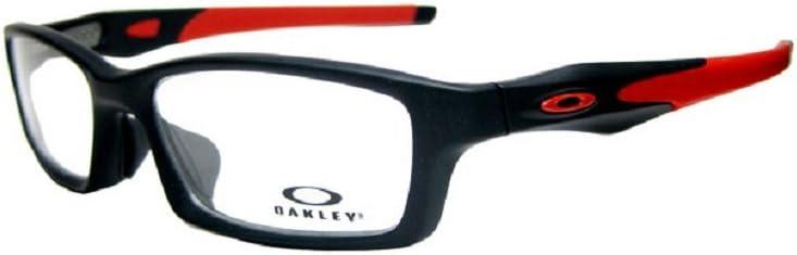 オークリー OAKLEY メガネ フレーム CROSSLINK クロスリンク OX8118-0456 サテンブラック/レッド