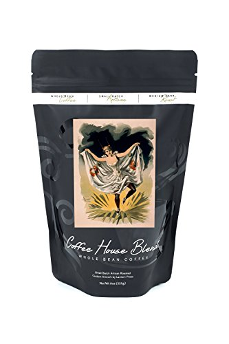 Dance Costumes Seattle (Woman in Dance Costume on Flower Poster (8oz Whole Bean Small Batch Artisan Coffee - Bold & Strong Medium Dark Roast w/ Artwork))