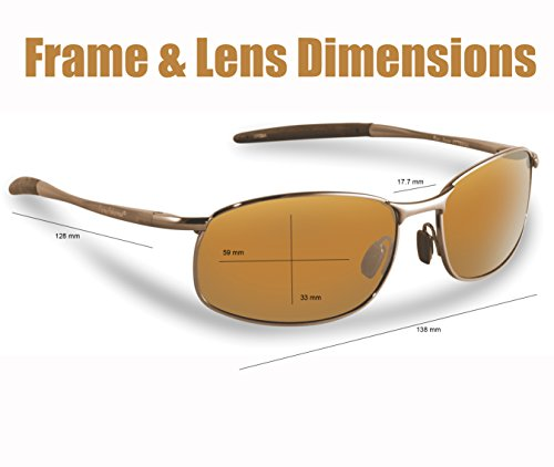 Flying Fisherman San Jose Polarized Sunglasses with AcuTint UV Blocker for Fishing and Outdoor Sports