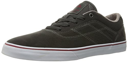 Emerica The Herman G6 Vulc, Color: Dark Grey/Red/White, Size: 38 EU / 6 US / 5 UK