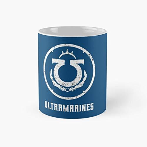 - ultramarines space marines Mug, space Cup, 11 Ounce Ceramic Mug, Perfect Novelty Gift Mug, Funny Gift Mugs, Funny Coffee Mug 11oz, Tea Cups 11oz