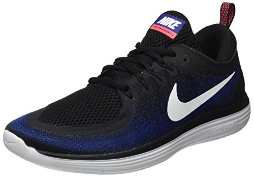 NIKE Men's Free RN Distance 2 Running Shoe Black/White/Deep Royal Blue/Hot Punch Size best prices cheap price outlet big sale discount official big discount cheap price newest for sale ulrjmxgJZH