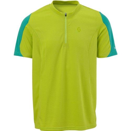 Scott Bikewear Mens Path Top Zip Neck Short Sleeve Cycling Jersey 221581288100 T Shirt (Large)