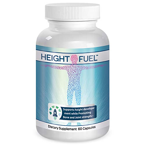 ⭐Height Fuel ⭐by Success Chemistry - Maximum Strength Height Fuel Enhancement & Powerful Antioxidant - Natural Bone Support & Joint Growth Formulation - Grow Taller Faster (Best Vitamins For Height Growth)