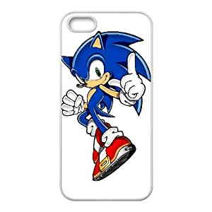Sonic the Hedgehog iPhone 5 5s Cell Phone Case White yyfabd-347306
