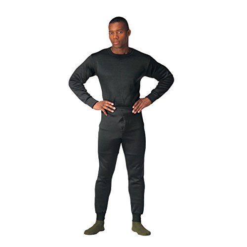 Rothco ECWCS Polyester Thermal Underwear Set - Black - LRG