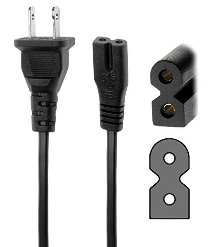 AFKT AC in Power Cord Cable Plug for Bose PS3-2-1 PS3-2-1 II PS3-2-1 III PS321 Powered Speaker System Acoustimass Subwoofer Bose Cinemate 1Sr SR1 SR 1 Digital Home Theater Speaker System