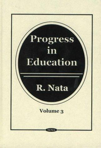 Read Online Progress in Education Vol. 3 ebook