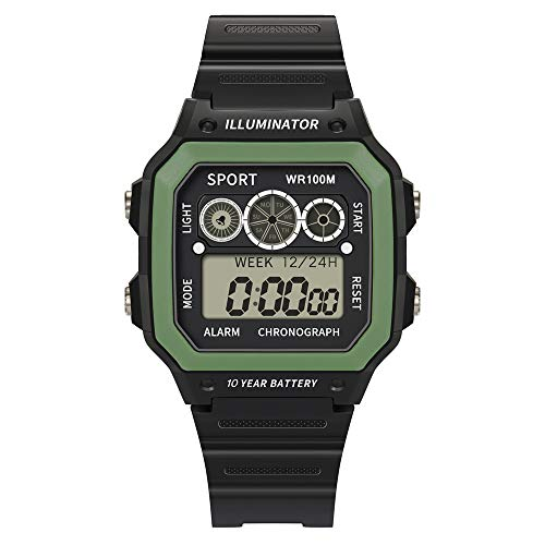 Price comparison product image Guartz Watches for Men Digital Under 10 Dollars Luxury Men Analog Digital Military Sport LED Waterproof Wrist Watch