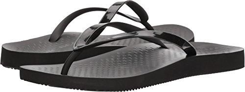Vionic Women's Beach Noosa Flip-Flop, Black, 9 Medium US